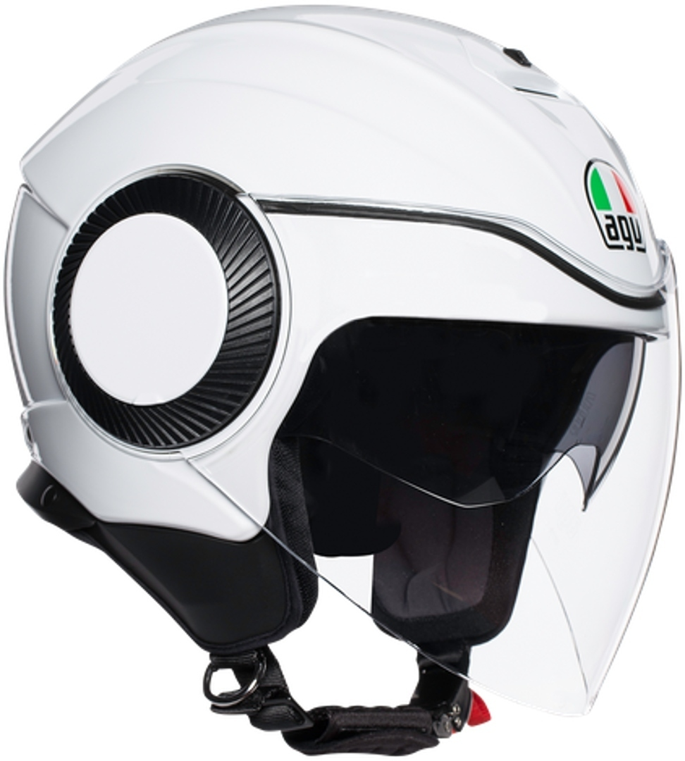 AGV Orbyt Mono Jethelm Weiss XS