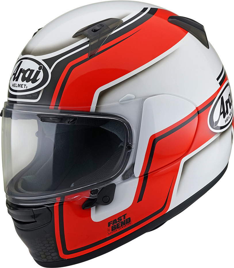 Arai Profile-V Helm Weiss Rot XS