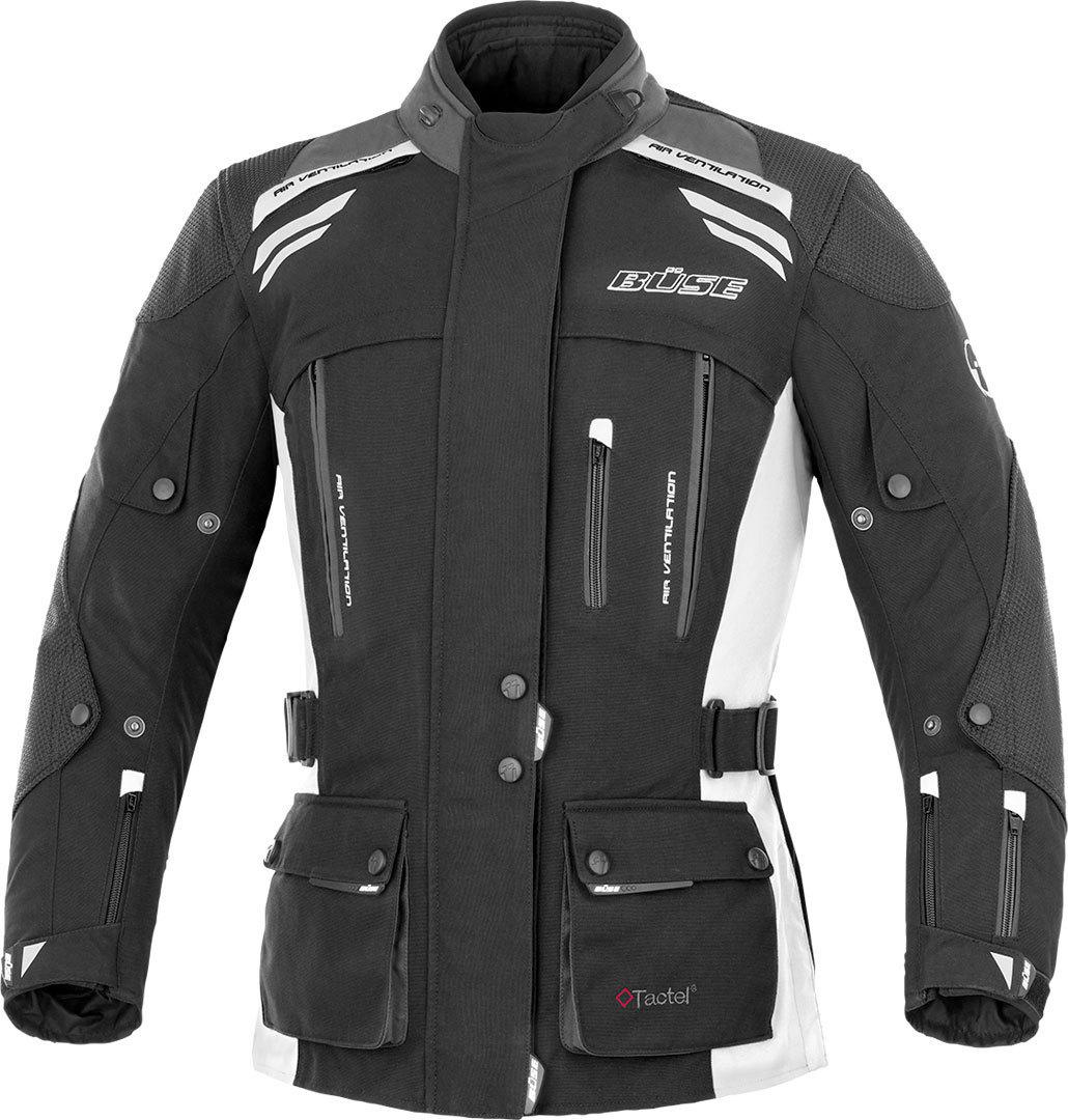 Büse Highland Damen Motorrad Textiljacke Schwarz Grau 36