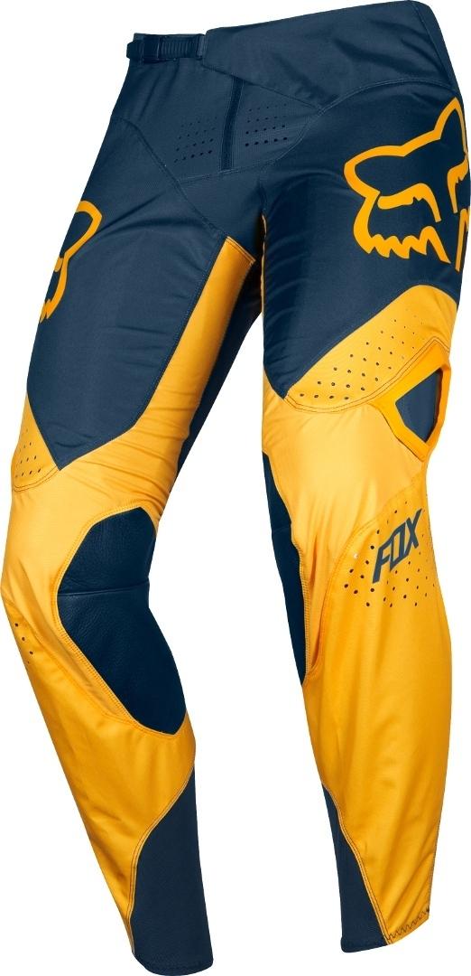 FOX 360 Kila Motocross Hose, blau-gelb, Größe 28, blau-gelb, Größe 28