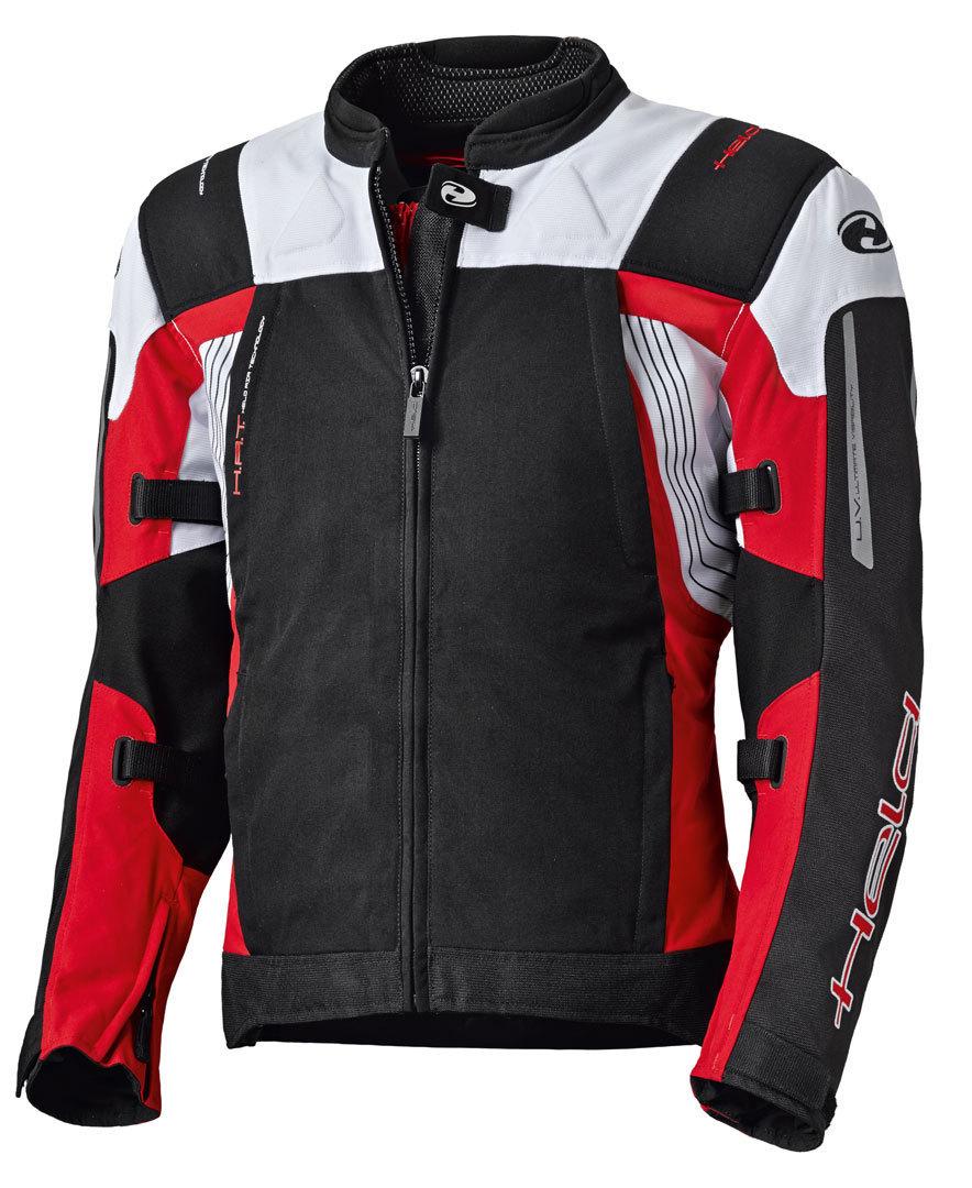 Held Antaris Motorrad Textiljacke, schwarz-rot, Größe M, schwarz-rot, Größe M