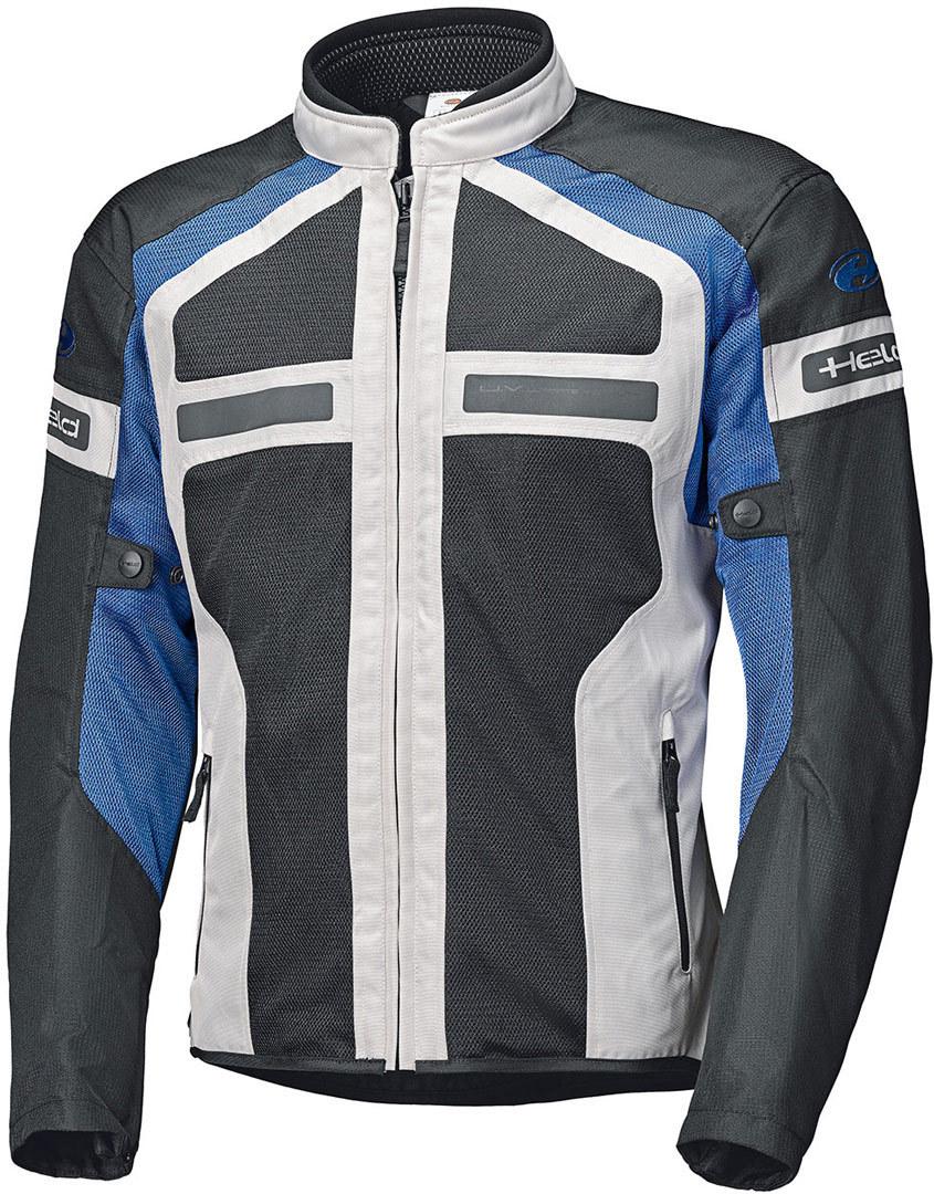 Held Tropic 3.0 Motorrad Textiljacke, grau-blau, Größe S, grau-blau, Größe S